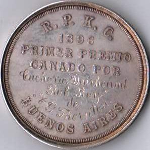 medalla r.p.k.c. posterior
