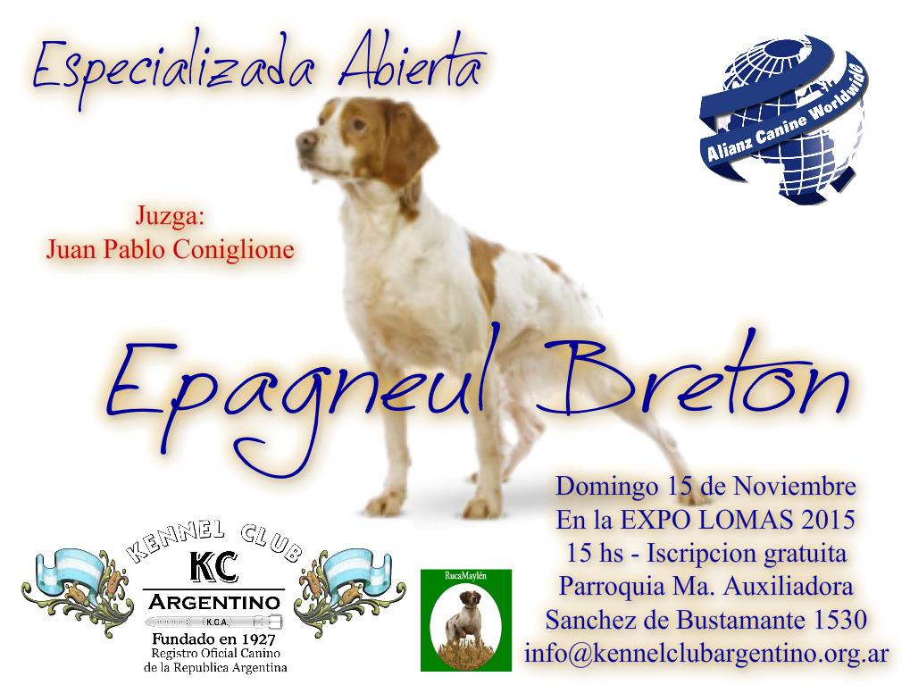 Exposición Abierta Especializada de Bretón