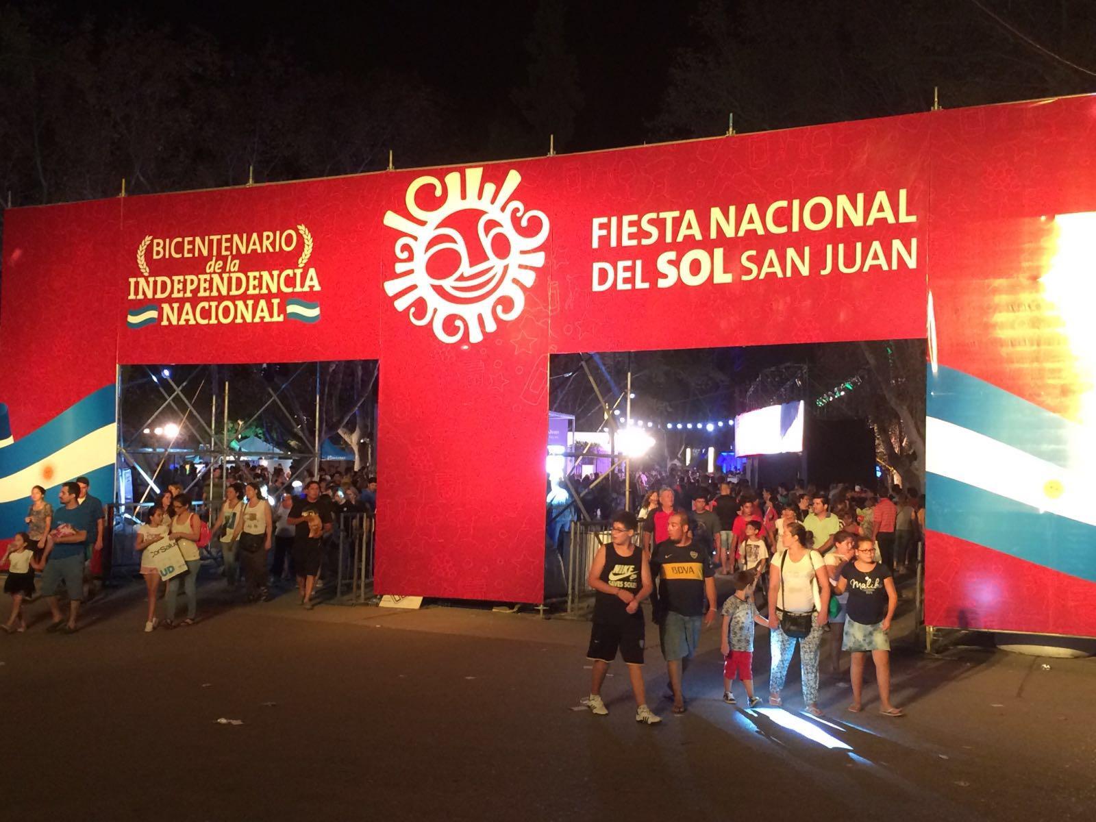 Fiesta Nacional del Sol en San Juan