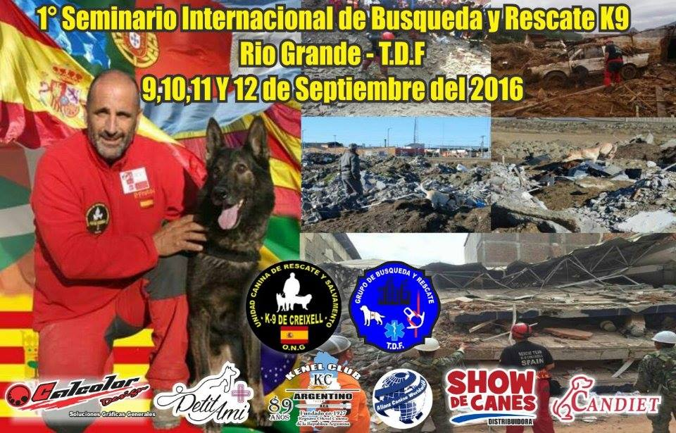 SEMINARIO INTERNACIONAL DE BUSQUEDA Y RESCATE