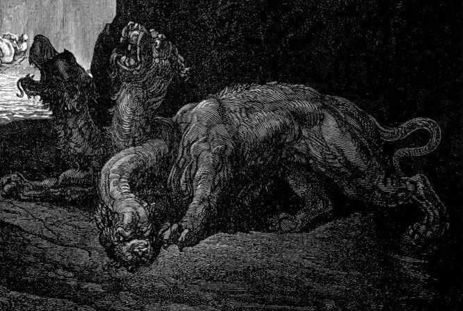 Cerbero, Guardián del Hades