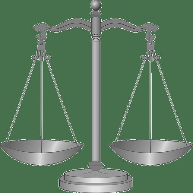 balanza de la justicia - registros de propiedad en los caninos